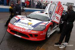 La Saleen S7 n°8 de RML (Miguel Ramos, Chris Goodwin)