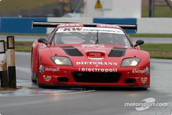 La Ferrari 575 M Maranello n°19 de JMB (Mauro Casadei, Antoine Gosse, Andrea Garbagnati)