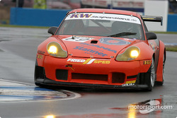 La Porsche 996 GT3 RS n°69 de Proton Competition (Christian Ried, Gerold Ried)
