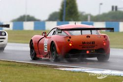 La TVR Tuscan T400R n°153 du RSR Racing (Laurence Tomlinson, Nigel Greensall)
