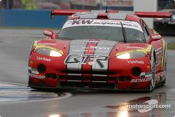 La Chrysler Viper GTS n°9 du Zwaan's Racing (Val Hillebret, Robert van der Zwaan)