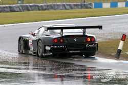 La Ferrari 575 M Maranello n°17 du JMB Racing (Jaime Melo, Karl Wendlinger)
