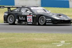 La Ferrari 575 M Maranello n°18 du JMB Racing (Lorenzo Case, Bert Longin, Matteo Malucelli)