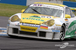 La Porsche 996 GT3 RSR n°50 du Freisinger Yukos Motorsport (Emmanuel Collard, Stéphane Ortelli)