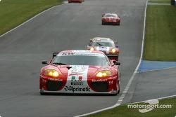La Ferrari 360 Modena #62 de G.P.C. Giesse Squadra Corse (Fabrizio de Simone, Christian Pescatori)
