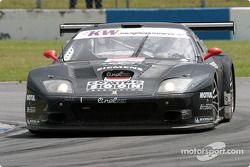 #17 JMB Racing Ferrari 575 M Maranello: Jaime Melo, Karl Wendlinger