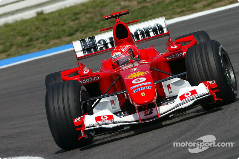 2004 (Hockenheim): Michael Schumacher (Ferrari F2004)