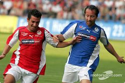 F1 ve RTL Superstars UNESCO Charity Football match, Carl Benz Stadium, Mannheim, Germany: Timo Glock