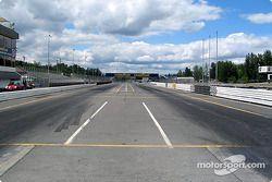 Portland International Raceway front straight