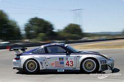 #43 BAM! Porsche 911 GT3 RSR: Leo Hindery, Lucas Luhr, Sascha Maassen