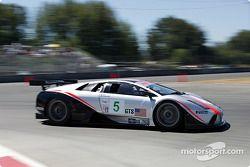 #5 Krohn Barbour Racing Lamborghini Murcielago R-GT: David Brabham, Peter Kox