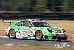 #67 The Racer's Group Porsche 911 GT3 RSR: Pierre Ehret, Jim Matthews