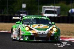 #66 The Racer's Group Porsche 911 GT3 RSR: Patrick Long, Cort Wagner