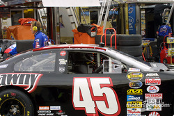 Kyle Petty always races a black car at NHIS to Honnor his son Adam