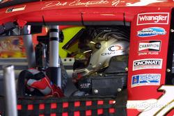 Martin Truex Jr. dans la voiture de Dale Earnhardt
