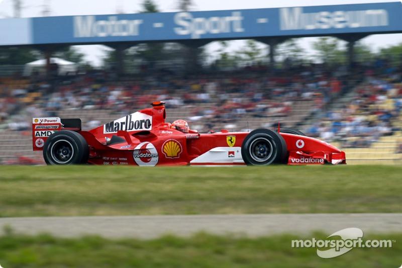 61. Alemania 2004, Ferrari F2004