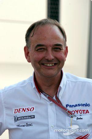 Toyota Motorsport Başkanı John Howett