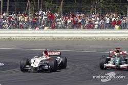 Takuma Sato y Mark Webber