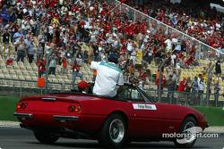 Parade des pilotes : Felipe Massa