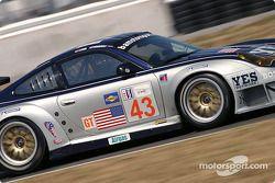 #43 BAM! Porsche 911 GT3 RSR: Leo Hindery, Lucas Luhr