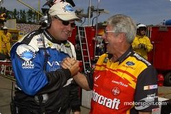 Crew chiefs Pat Tryson and Leonard Wood