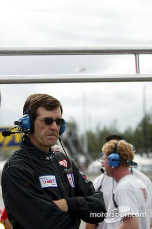 Flying Lizard Motorsports Chief Engineer Craig Watkins