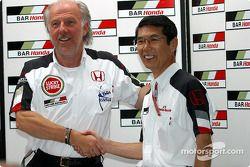 BAR-Honda basın toplantısı: David Richards