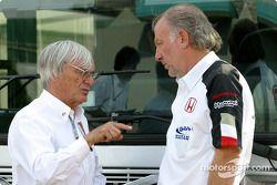 Bernie Ecclestone ve David Richards
