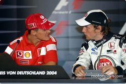 Conférence de presse FIA : Michael Schumacher et Jenson Button