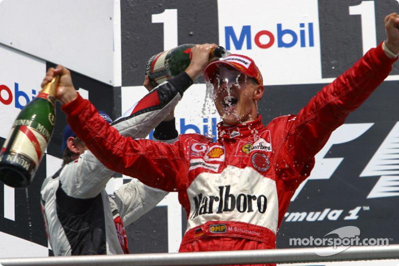 Hockenheim - Michael Schumacher - 4 triunfos