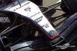 Le nez de la McLaren