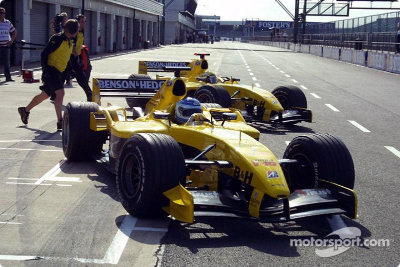 Chanoch Nissany et Giorgio Pantano