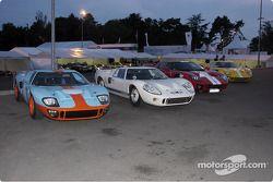 Des anciennes et des nouvelles GT40