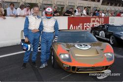 Grid4-Claude Nahum and Bernard Thuner-GT40
