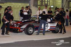 Grille 5-50-Chevrolet Corvette-Changement de pilote