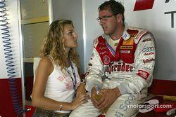Christian Abt et sa petite amie Christina Surer