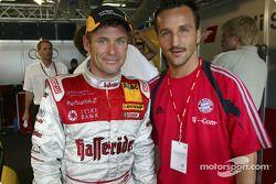 Les joueurs du Bayern Münich visitent le DTM : Tom Kristensen