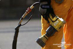 Entraînement aux arrêts aux stands chez Audi : l'équipement en détail