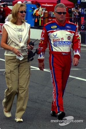 Ricky Rudd and wife Linda