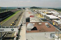 Les garages du Nürburgring