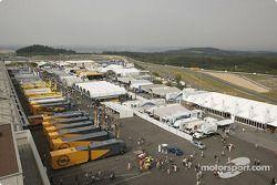 Le paddock du Nürburgring