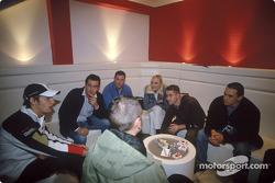 Jenson Button ve friends