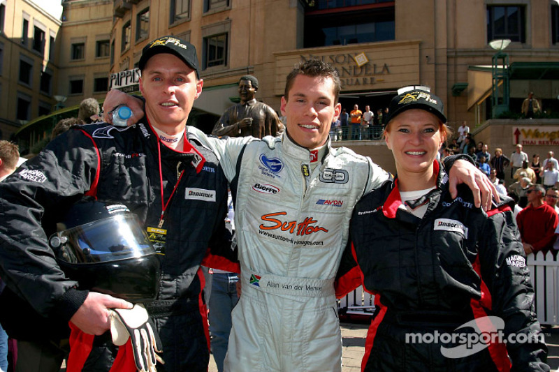 Minardi F1x2 in Johannesburg: Alan van der Merwe and friends