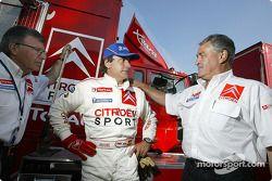 Carlos Sainz and Guy Fréquelin
