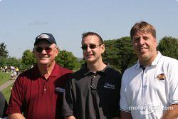 Les pilotes du Brickyard 400 au golf : Kurt Busch et des amis