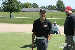 Les pilotes du Brickyard 400 au golf : Darren Manning