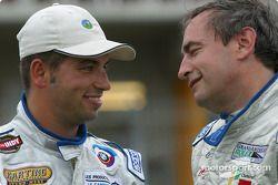 Le vainqueur Marc-Antoine Camiret et Normet Guindon