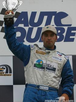 Podium GTO : le vainqueur Marc-Antoine Camiret