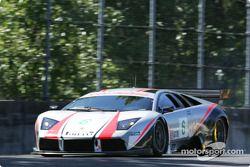 La Lamborghini Murcielago R-GT n°6 du Krohn Barbour Racing (Tracy Krohn, Nic Jonsson)