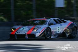 #6 Krohn Barbour Racing Lamborghini Murcielago R-GT: Tracy Krohn, Nic Jonsson